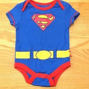 Superman Onesie Size 0-3 Months